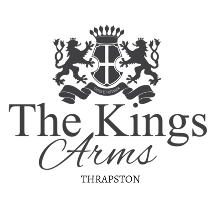 Image result for kings arms thrapston logo